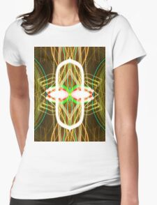 forging the reactor abstract photography Womens Fitted T-Shirt