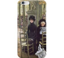 Vintage famous art - James Tissot - Without A Dowry iPhone Case/Skin