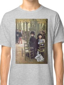 Vintage famous art - James Tissot - Without A Dowry Classic T-Shirt