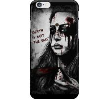 death is not the end iPhone Case/Skin