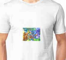 """Wild Abstract Ewing"" Unisex T-Shirt"