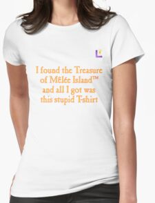 MONKEY ISLAND TREASURE TROVE Womens Fitted T-Shirt