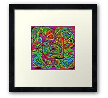 Psychedelic #1 Framed Print