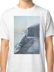 Falmouth Sea front Couple in love Classic T-Shirt
