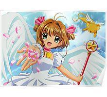 Sakura - Angel Poster