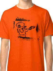 Squidward Dab Graffiti Classic T-Shirt