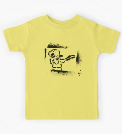 Squidward Dab Graffiti Kids Tee