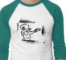 Squidward Dab Graffiti Men's Baseball ¾ T-Shirt