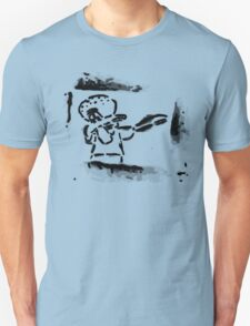 Squidward Dab Graffiti Unisex T-Shirt