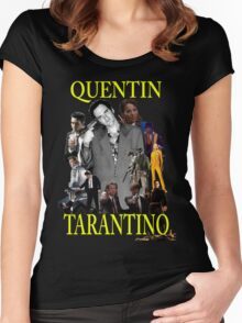 Quentin Tarantino Universe  Women's Fitted Scoop T-Shirt