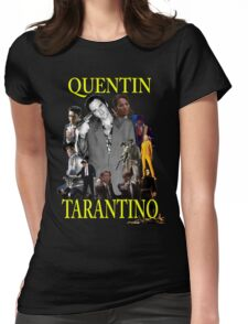 Quentin Tarantino Universe  Womens Fitted T-Shirt