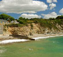 Charlestown Beach and Cliffs Sticker