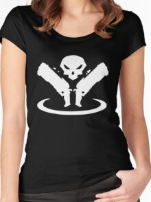 Reaper Logo Women's Fitted Scoop T-Shirt