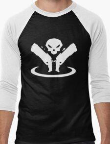 Reaper Logo Men's Baseball ¾ T-Shirt