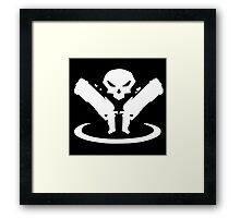 Reaper Logo Framed Print