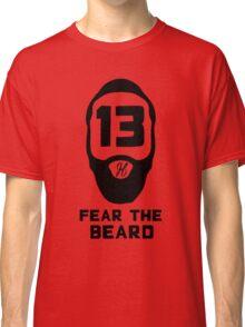 James Harden Fear the Beard - Black Classic T-Shirt
