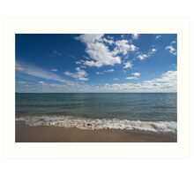Lake Michigan Waves Art Print