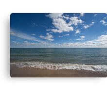 Lake Michigan Waves Canvas Print