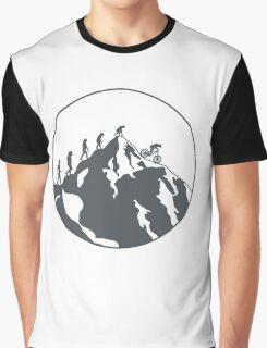 Evolution of Mountain biking | 2 Graphic T-Shirt