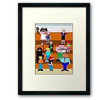 Dysfunction-School Shot Framed Print