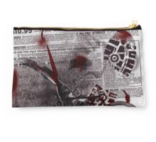 Crime Evidence - Blood and Scissors Studio Pouch