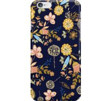 Floral Pattern Design iPhone Case/Skin