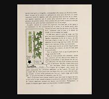 Etude-de-la-Plante-Maurice-Pillard-Verneuil-1903-120 Plant Study Botany Unisex T-Shirt