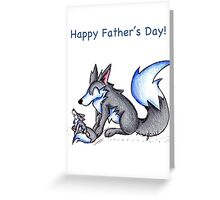 Alpha Bonding Greeting Card