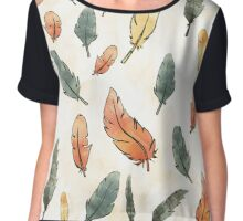 A rain of feathers Chiffon Top