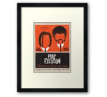 Pulp Brothers New and Improved Framed Print