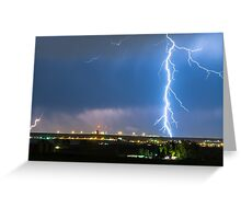 Night Strike Greeting Card