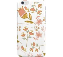 Floral Pattern iPhone Case and Wallet iPhone Case/Skin