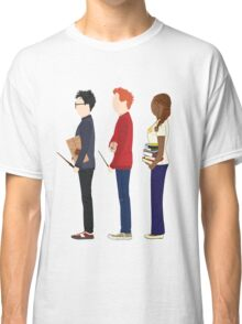 Harry Potter, Ron Weasley and Hermione Granger Classic T-Shirt