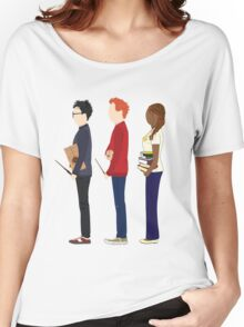 Harry Potter, Ron Weasley and Hermione Granger Women's Relaxed Fit T-Shirt