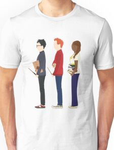 Harry Potter, Ron Weasley and Hermione Granger Unisex T-Shirt