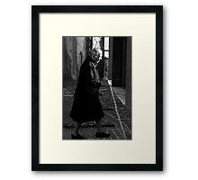 Widow Framed Print