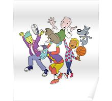 Doug Funnie & Friends Poster
