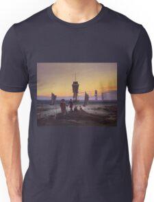 Vintage famous art - Caspar David Friedrich  - The Stages Of Life Unisex T-Shirt