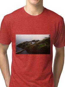 Down by the lake Tri-blend T-Shirt