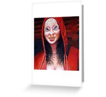 The Red Hood Greeting Card