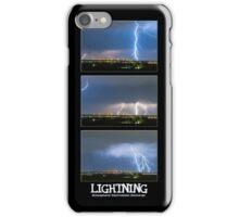 Lightning - Atmospheric Electrostatic Discharge. iPhone Case/Skin