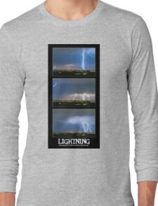 Lightning - Atmospheric Electrostatic Discharge. Long Sleeve T-Shirt