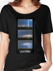 Lightning - Atmospheric Electrostatic Discharge. Women's Relaxed Fit T-Shirt