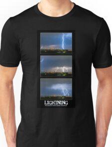 Lightning - Atmospheric Electrostatic Discharge. Unisex T-Shirt