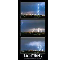 Lightning - Atmospheric Electrostatic Discharge. Photographic Print