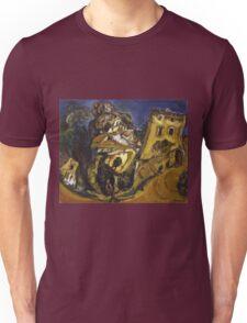Vintage famous art - Chaim Soutine - Landscape At Cagnes Unisex T-Shirt