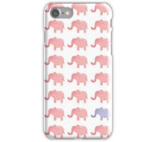Pink Elephants iPhone Case/Skin