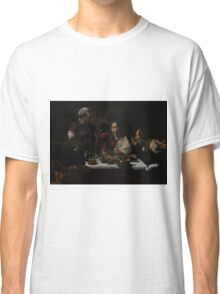 The Supper at Emmaus - Caravaggio Classic T-Shirt