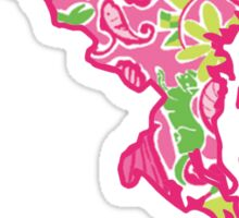Maryland Lilly Pattern Sticker