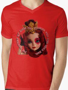 Red Roses Mens V-Neck T-Shirt